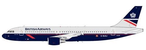 """Airbus A320 British Airways """"Landor Livery"""" G-BUSJ Scale 1/200"""