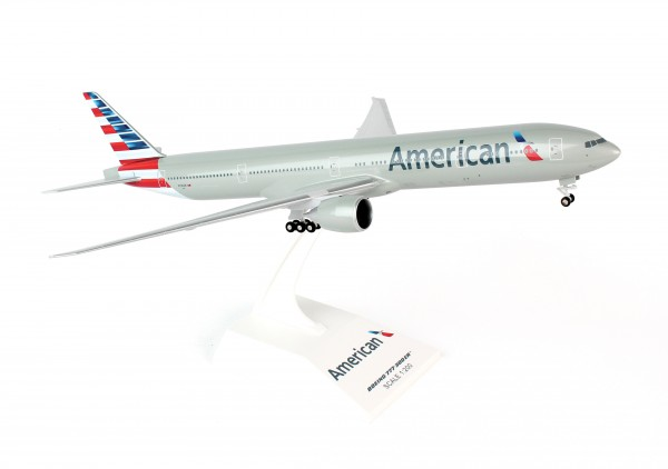 Boeing 777-300 American Airlines N718AN Scale 1/200 w/gear