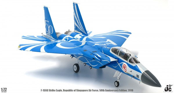 McDonnell Douglas F-15SG Republic of Singapore Air Force, 50th Anniversary,2018 Scale 1/72