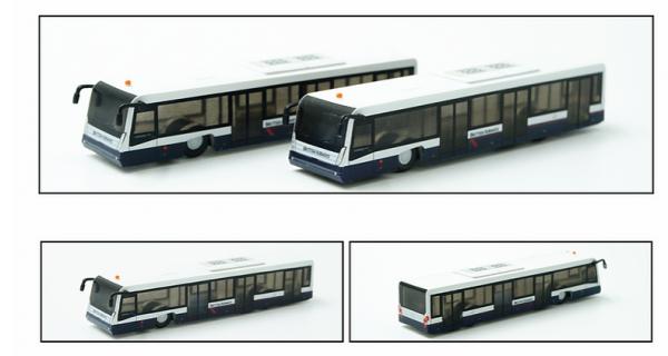Airport Bus BA Landor Set of 2 Scale 1/200