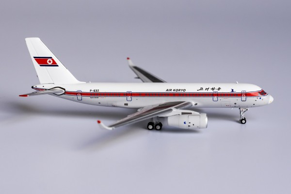 "Tupolev Tu-204-300 Air Koryo ""old livery"" P-632 Scale 1/400"