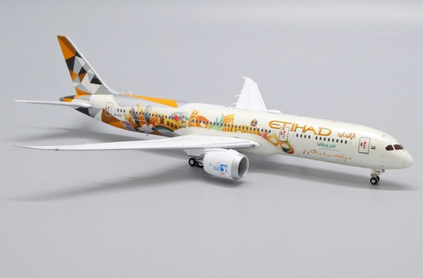 """Boeing 787-9 Etihad Airways """"Choose Italy Livery"""" A6-BLH Scale 1/400"""