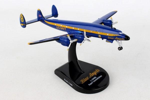 POSTAGE STAMP Lockheed C-121J Constellation (L-1049G) Blue Angels Scale 1/300