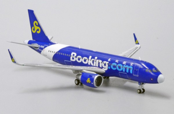 """Airbus A320 Spring Airlines """"Booking.com"""" B-6902 Scale 1/400"""