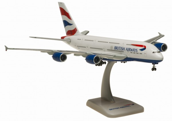 Airbus A380-800 British Airways Scale 1:400
