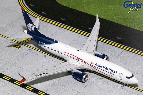 Boeing 737 MAX 8 Aeromexico Scale 1/200