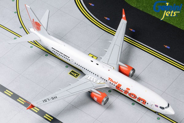 Boeing 737 MAX 9 Thai Lion Air HS-LSI Scale 1/200