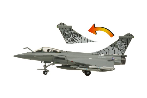 Dassault Rafale M French Navy Tail no. 27 special tail Scale 1/200