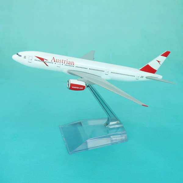 """Boeing 777-200ER Austrian Airlines """"60th Anniversary"""" Scale 1/400"""