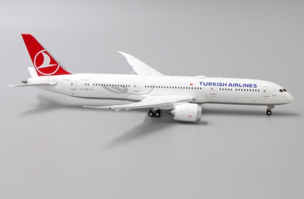Boeing 787-9 Dreamliner Turkish Airlines Flap Down Version TC-LLA Scale 1/400