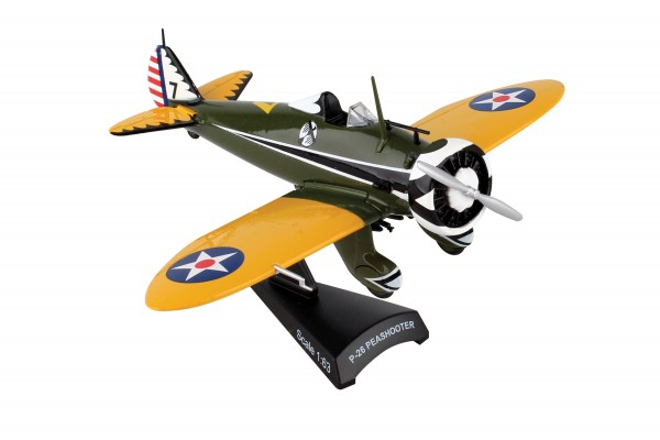 POSTAGE STAMP Boeing P-26 Peashooter Scale 1/63