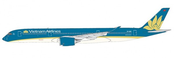 Airbus A350-900XWB Vietnam Airlines Flaps Down Version VN-A891 Scale 1/400