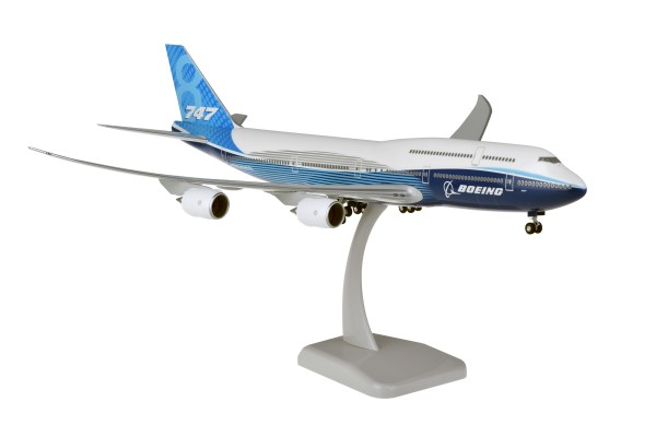 Boeing 747-8 House Color Blue NL 2019 Scale 1:200
