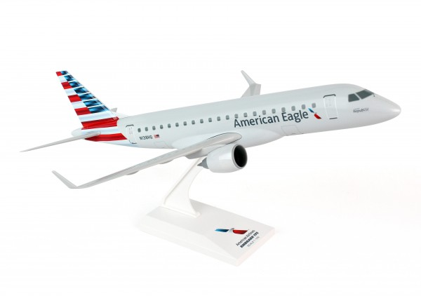 Embraer ERJ-175 Aermican Eagle NL Republic Scale 1/100