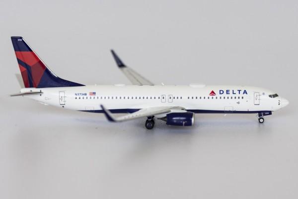Boeing 737-800 Delta Air Lines N3734B Scale 1/400