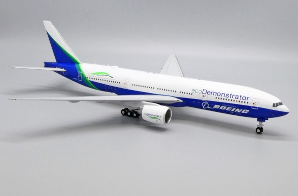 """Boeing 777-200 Boeing House Color """"Eco Demonstrator Livery"""" N772ET Scale 1/200"""