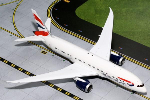 Boeing 787-8 Dreamliner British Airways G-ZBJC Scale 1/200