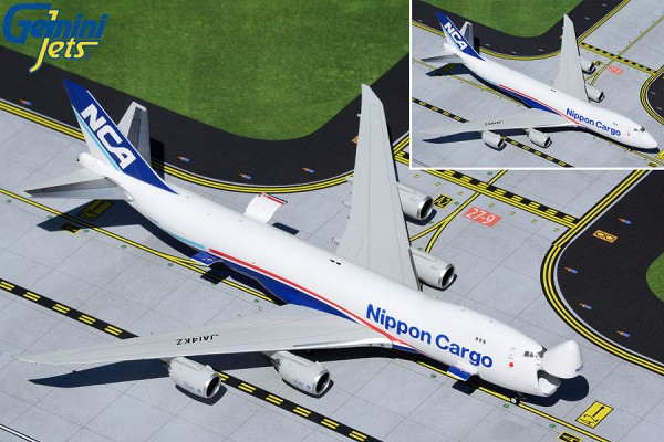 Boeing 747-8F Nippon Cargo Airlines (Interactive Series) JA14KZ Scale 1/400