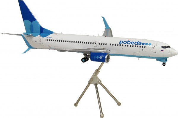 Boeing 737-800 Pobeda Scale 1/200