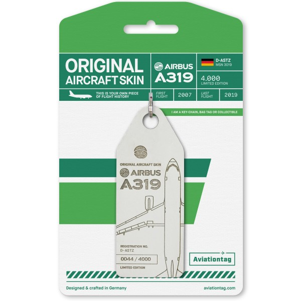 Aviationtag Airbus A319 – D-ASTZ