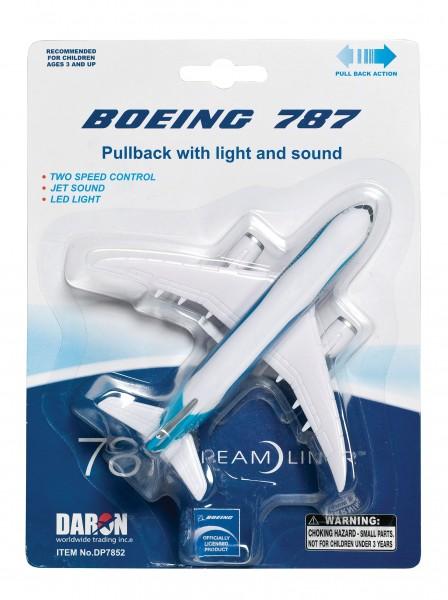 Boeing 787 Pullback plane w/Light & Sound