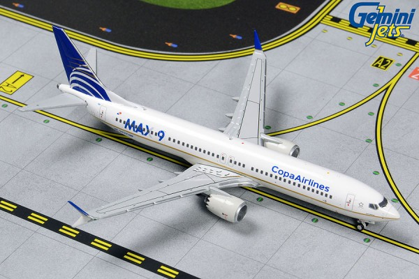 Boeing 737 MAX 9 Copa Airlines HP-9901CMP Scale 1/400