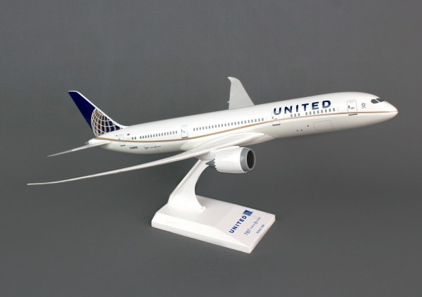 Boeing 787-9 United Airlines Scale 1/200