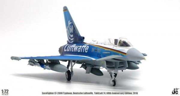 Eurofighter EF2000 Typhoon Deutsche Luftwaffe, TaktLwG 74, 60th Anniversary Edition, 2016 Scale 1/72