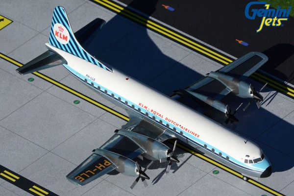"Lockheed L-188 Electra KLM ""Saturnus"" Scale 1/200"