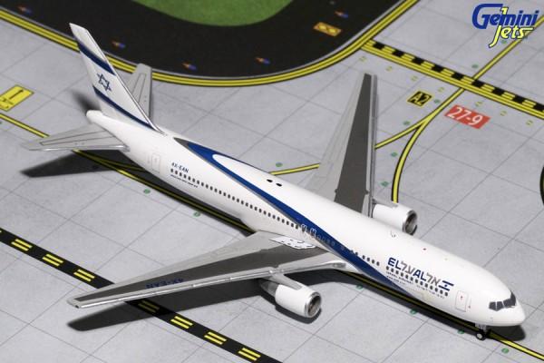 Boeing 767-300ER El Al Israel Airlines Scale 1/400