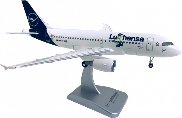 "Airbus A319 Lufthansa New Livery ""LU"" Scale 1:200 w/G"