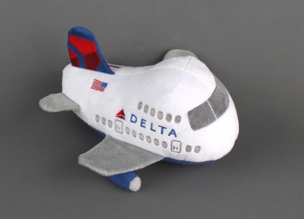 Plush Delta Aircraft w/Sound