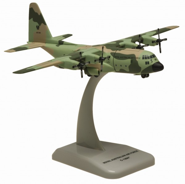 "Lockheed C-130H RAAF CAMOUFLAGE A97-006 ""Miss Behavin"" Scale 1/200"