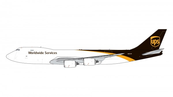 Boeing 747-8F UPS United Parcel Service N607UP Scale 1/400