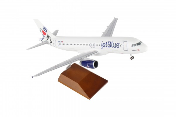 """Airbus A320 Jetblue Airways """"NY`s Hometown"""" Scale 1/100 w/Gear"""