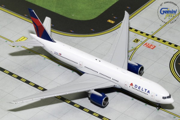 Boeing 777-200LR Delta Air Lines Scale 1/400
