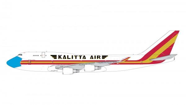 "Boeing 747-400BCF Kalitta Air ""mask livery"" N744CK Scale 1/400"