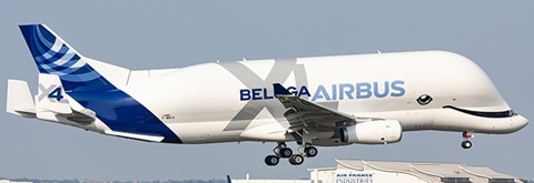 Airbus A330-743L Beluga XL Transport International *Interactive Series #4 F-GXLJ Scale 1/200 #