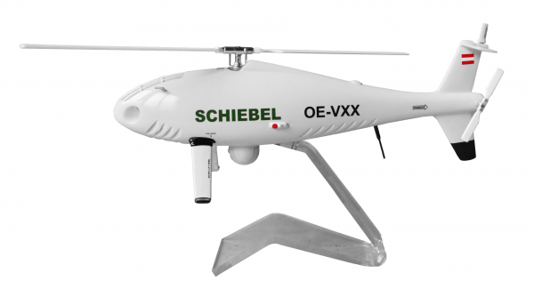 """Schiebel Camcopter S-100 """"Light Grey"""" Scale 1/16 +++"""