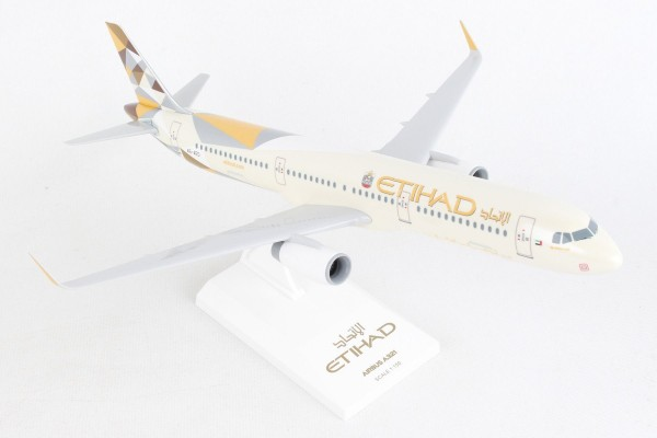 Airbus A321 Etihad Airways A6-EAD Scale 1/150