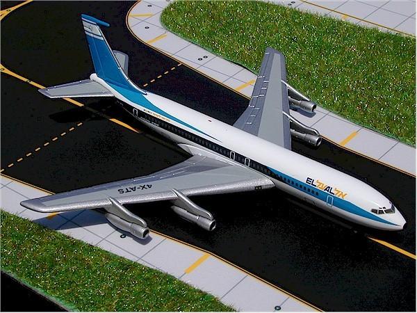 Boeing 707-358B El Al Israel Airlines 4X-ATS Scale 1/400