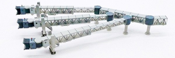 Air Passenger Bridge A380 (Transparent) Scale 1/400 #