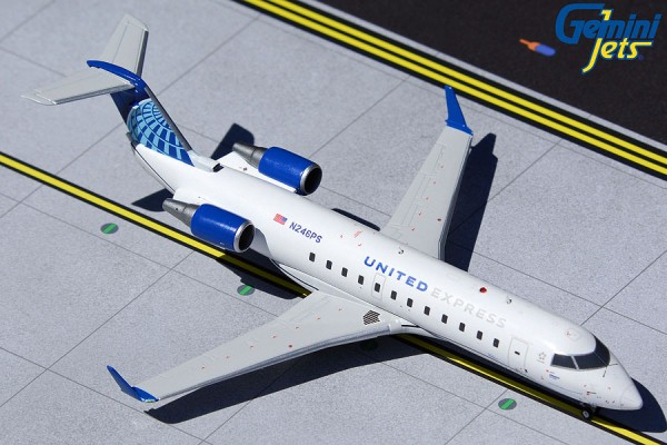 Bombardier CRJ-200LR United Express/SkyWest Airlines N246PS Scale 1/200