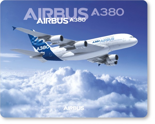 Airbus A380 HC air to air Mousepad