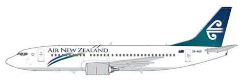 Boeing 737-300 Air New Zealand ZK-NGD Scale 1/200