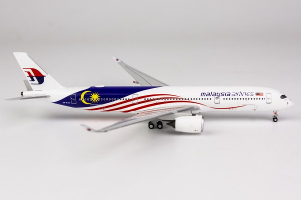 """Airbus A350-900 Malaysia Airlines """"Negaraku Livery"""" 9M-MAG Scale 1/400"""