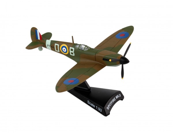 "POSTAGE STAMP POSTAGE STAMP Spitfire RAF MKII ""BATTLE OF BRITAIN"" Scale 1/93"