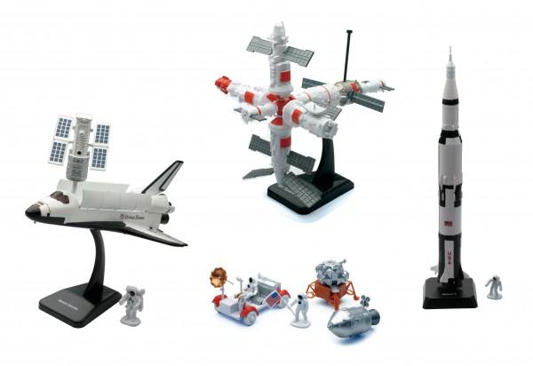 Space Adventure Model Set 4pcs