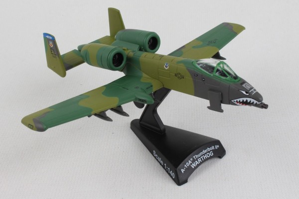 POSTAGE STAMP Fairchild-Republic A-10 Thunderbolt II Flying Tigers Scale 1/140