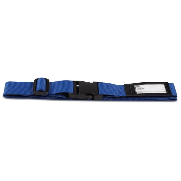 Koffergurt blau / Luggage strap blue